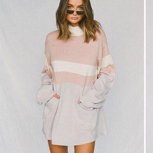 Sabo Skirt delta knit dress